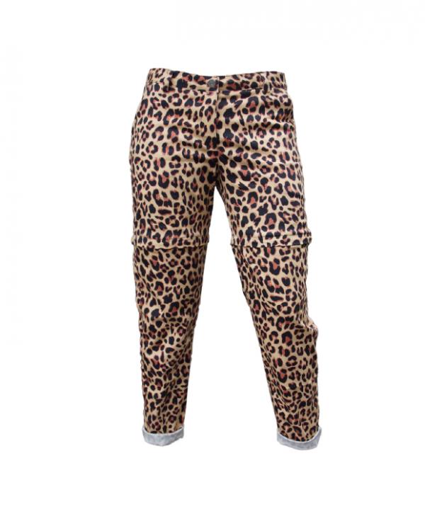 Leopard afritsbroek