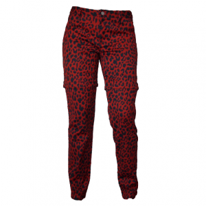 Red Leopard Afritsbroek