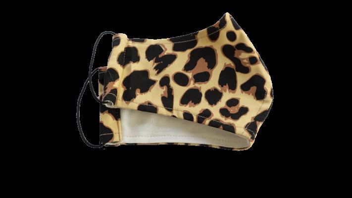 Leopard mondkap